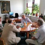 Setkání Rady CNZ s ředitelkou Národního archivu